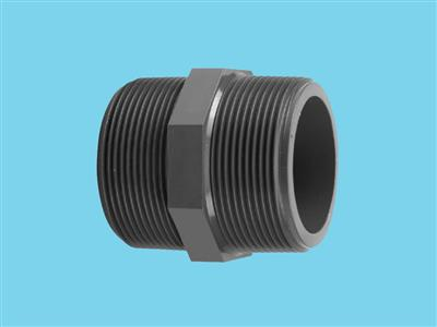 "Thread Nipple 3/4"" x 3/4"" 16bar pvc"
