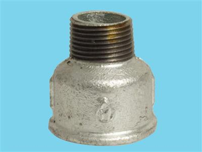 "reducing socket 1/2fx1/2""m galvanised 529"