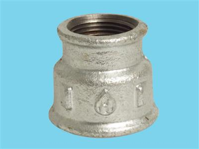 "reducing socket 1 1/2""fx1""f galvanised 240"