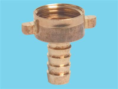 coupling brass 2/3 - 3/4 female x1/2mm