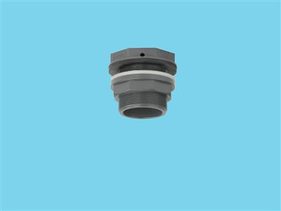 tank connector 50 x 2 1/4""