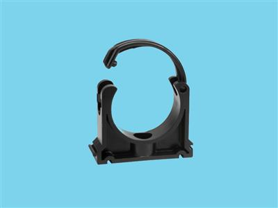Tube clip Ø40mm pvc