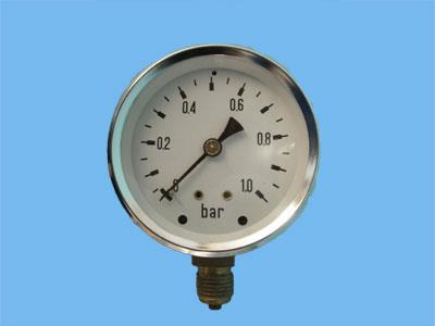 "pressure gauge 0-1 bar oa1/4""63mm"