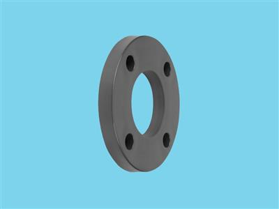 Backing flange 20 pvc PCD 63, thickness 11mm, 4x 16mm pvc