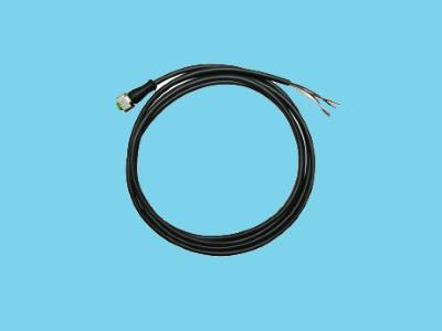 Cable PVC m M12x1 plug 2mtr. Open end A-encoded