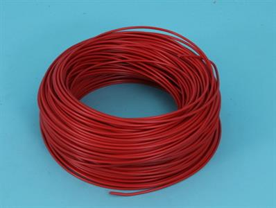 mounting wire  0,75 mm     red