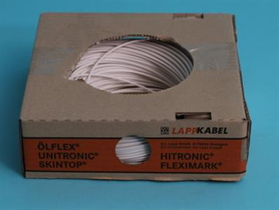 Mounting wire  1,5  mm    white