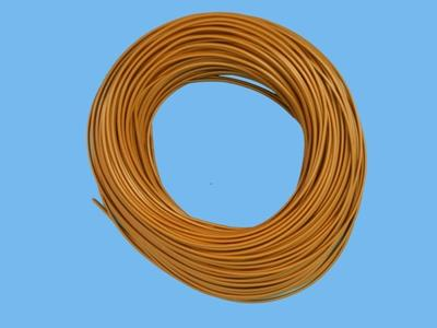 Mounting wire  1,5  mm    brown