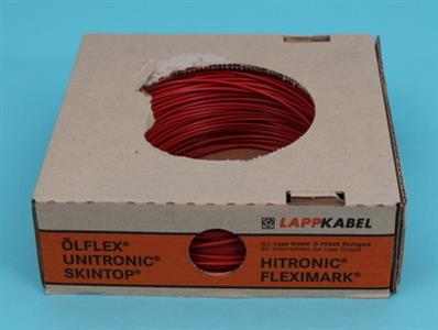 control cabinet single cores 6 qmm red
