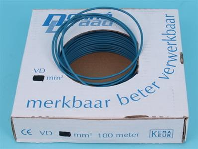 v d wire 1.5 mm blue