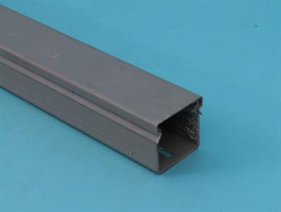 trunk pvc closed b 80100 2mtr grey