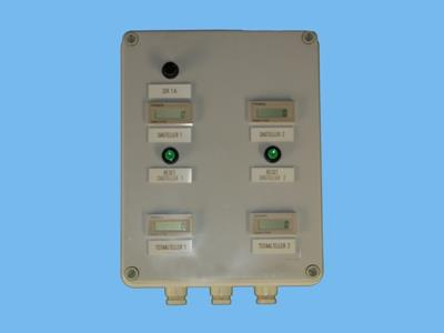 panel 2x drain counter with transformer