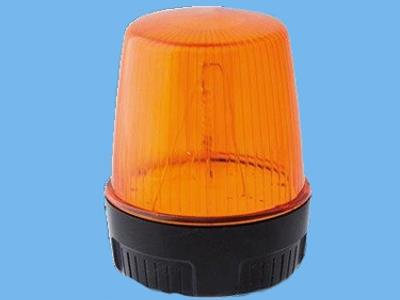alarm flashlight 5 watt amber 10-100 vdc/20-72vac