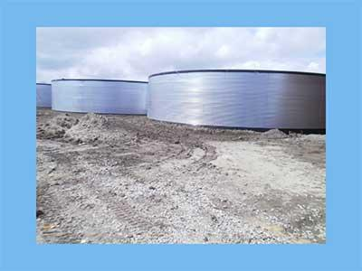 water tank only 23,96mx3,05m  1370m3