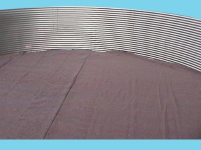 Bottom protection sheet Ø 23.04 mtr