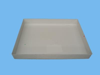 environmental bucket pallet hdpe 120x100x15 cm (natural/whit