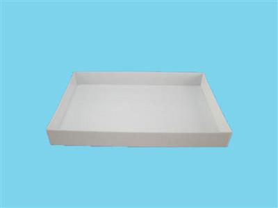 drip tray  hdpe 124x84x15cm (natural/white)