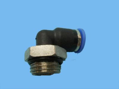 push-in angle male threaded coupling