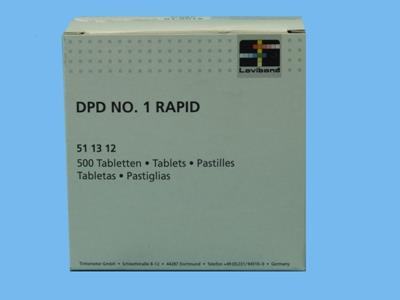 chlorine tablets dpd no.1 rapid [500/box]