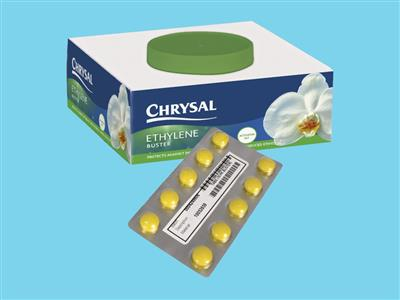chrysal ethylene buster tablets/set
