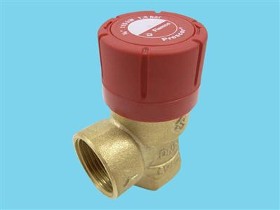Flamco over flow protection valve