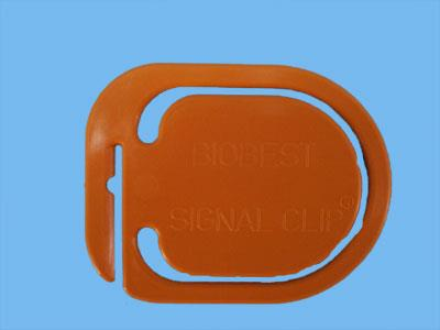 signal clip (orange) [50 pieces] set