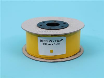 sticky trap roll yellow (thin) 100m x 5cm [type 3]