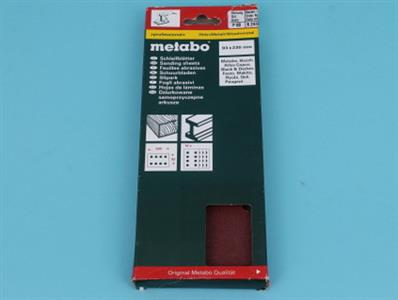 metabo sanding sheet 10 k 80sr225