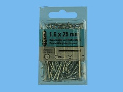 wire nails 25x1,6mm