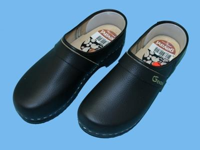 denver black clogs 38