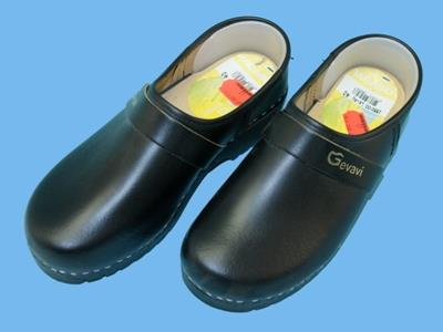 Lincoln black clogs size 40
