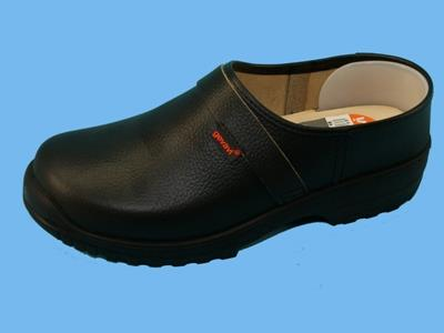 Lincoln black clogs size 46