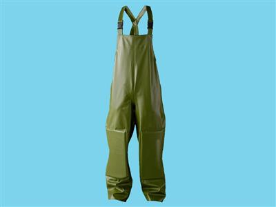 dungarees with elbow fitting green xxl