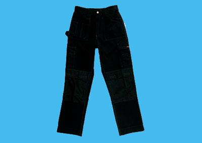 Working Trousers GW-02 black size 48