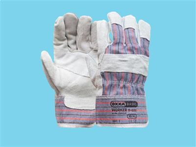 gloves leather (split) cat.1