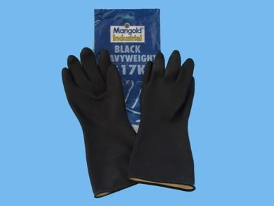 Hobby gloves black 6,5-7
