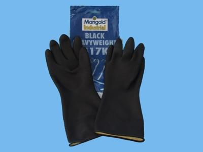 hobby gloves black      7,5- 8