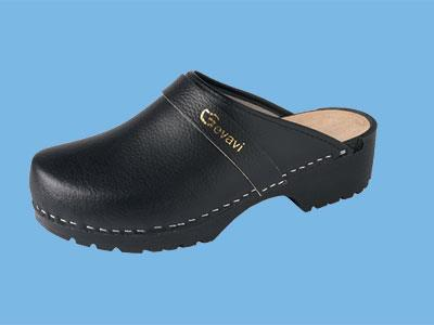 Dinan P U  Black Clogs size 11.5