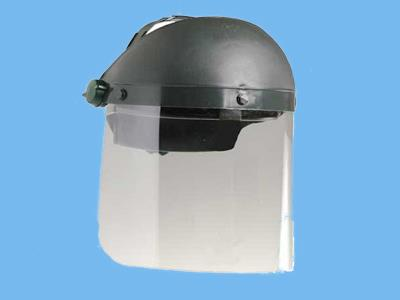 perfo-b face shield 18cm with gray hood fertilizer