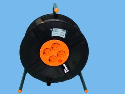 rubber cable reel 25mtr 3x1, 5