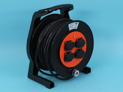 rubber cable reel 40mtr 3x2, 5