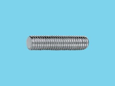 elect galvanised 8,8 wire rod m6   1m