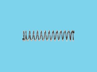 elect galvanised spring 1.0x10.0x32mm