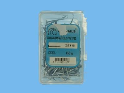 wire nails 2.0x40gk 500gr