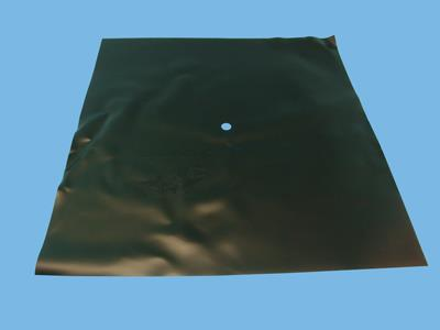Black aquatex film 60x60cm + hole