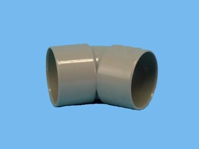 "bend thick walled 45 ""50mm gryse"