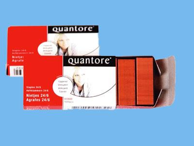 Staples 24/6 Quantore box of 1000 pcs copper (20)
