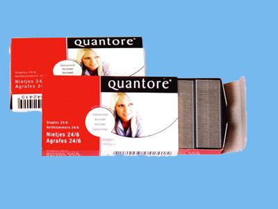 staples 24/6 quantore galvanized box of 1000 (20)