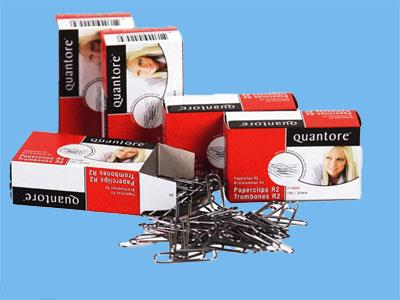 Paperclips Quantore 30mm; box of 100pcs (10)