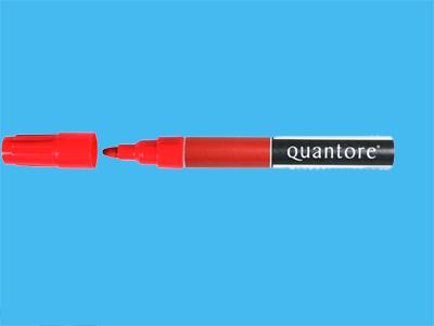 felt-tipped pen quantcre 3000 red permanent (10)